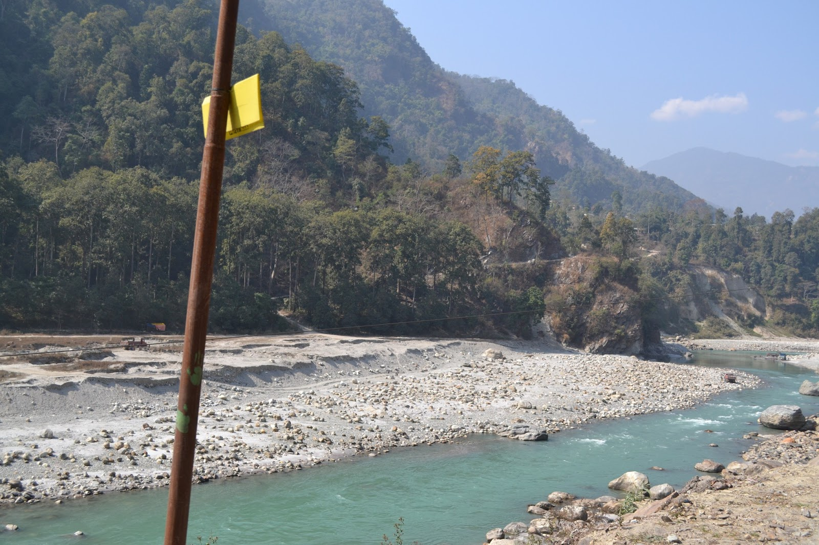 Tista river , on the way to gangtok