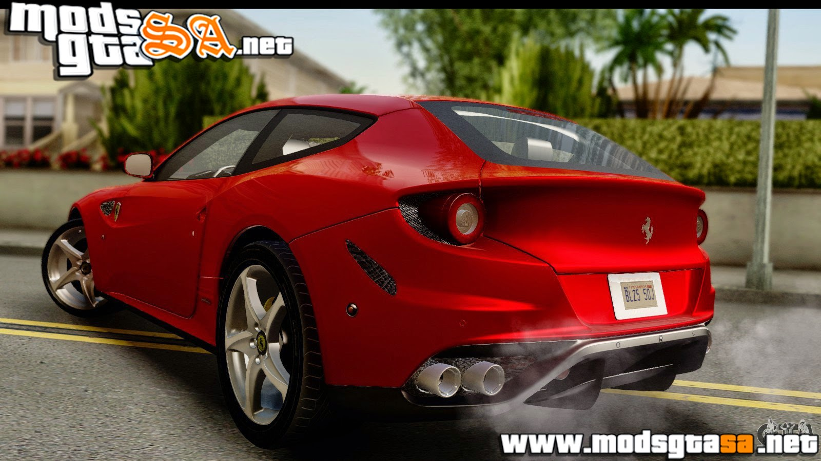 SA - Ferrari FF do NFS Rivals