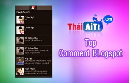 Hiển thị Comment Blogspot mới nhất giống thông báo tin nhắn Facebook