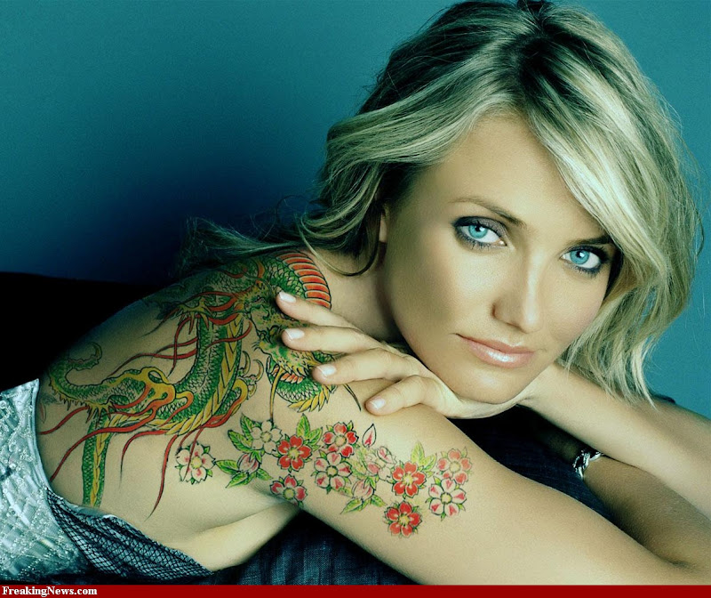 Famous Body Art Tattoos Designs title=