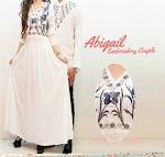 Baju Muslim Gamis Couple White JX159