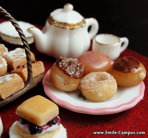 Delicious Mini Food Plates
