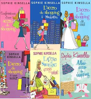 roman livre lecture mode beauté accro du shopping sophie kinsella