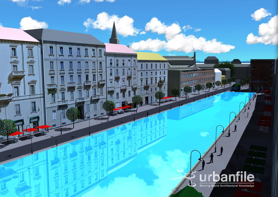 Urbanfile milano progetti riaprire il corso dei for Corso arredatore d interni milano