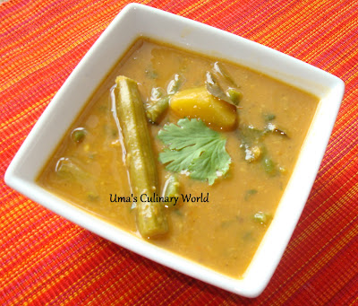 kolambo or Konkani Sambar
