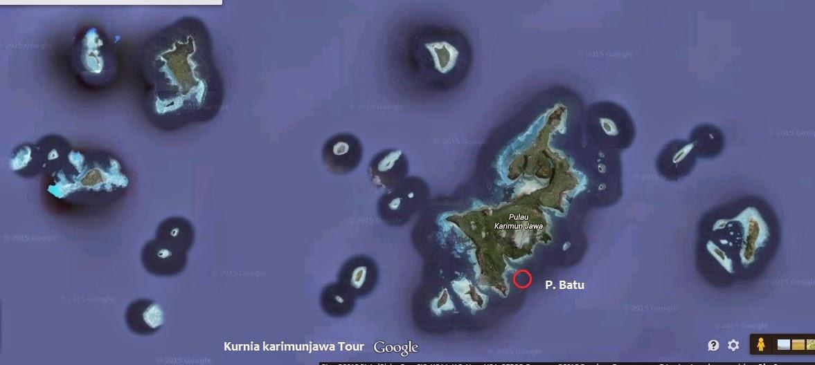 lokasi pulau batu di karimunjawa
