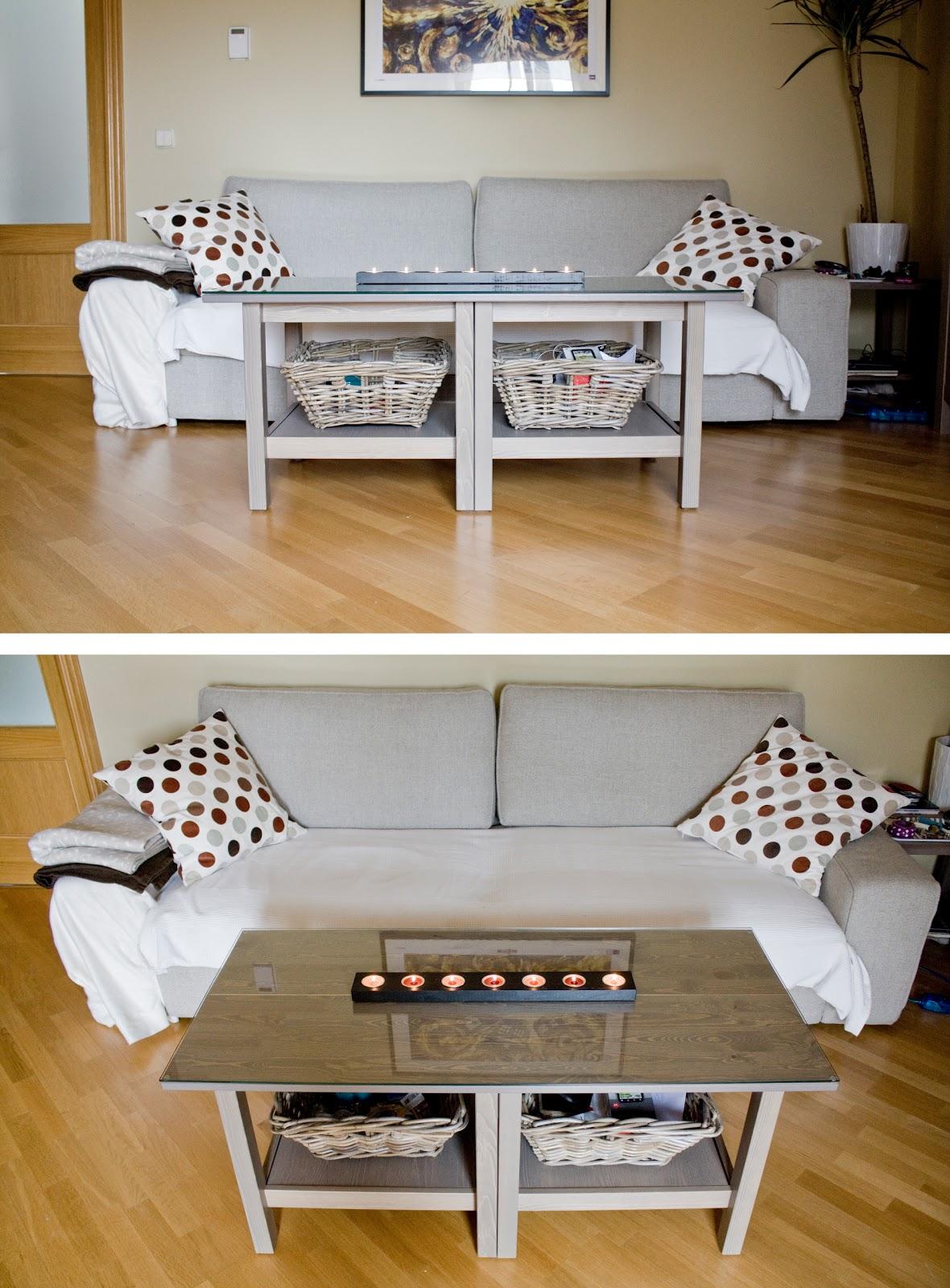 Blootiful dos mesas de apoyo de ikea una mesa de centro for Mesa centro ikea