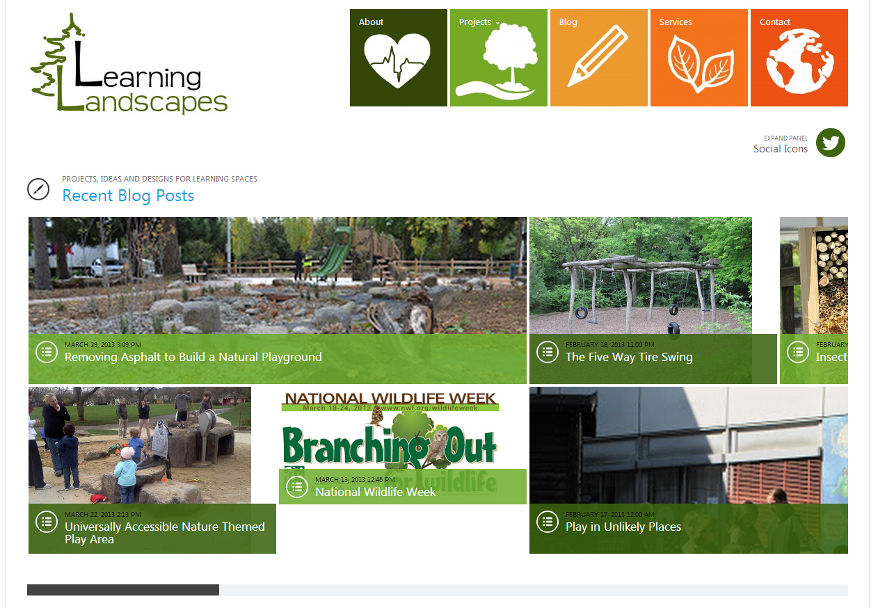 The learning landscape learning landscapes start a new for Learn landscape design