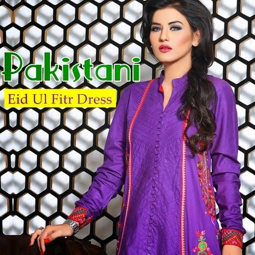 Pakistani Eid ul fitr Dresses 2014