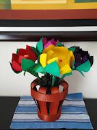 Flores de Madera 100% hechas a mano, Como adornos en tu hogar o centros de mesa en tu Evento social