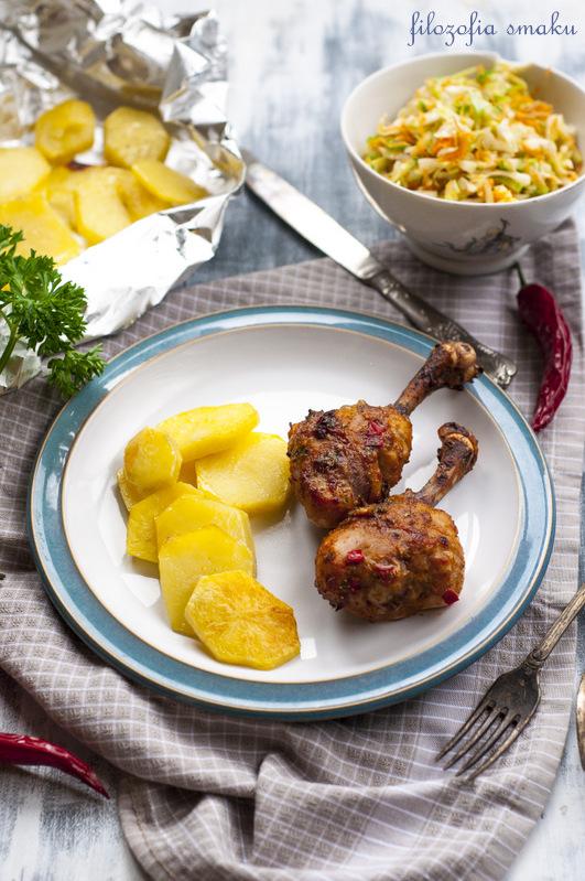 Kurczak pieczony po tajsku przepis