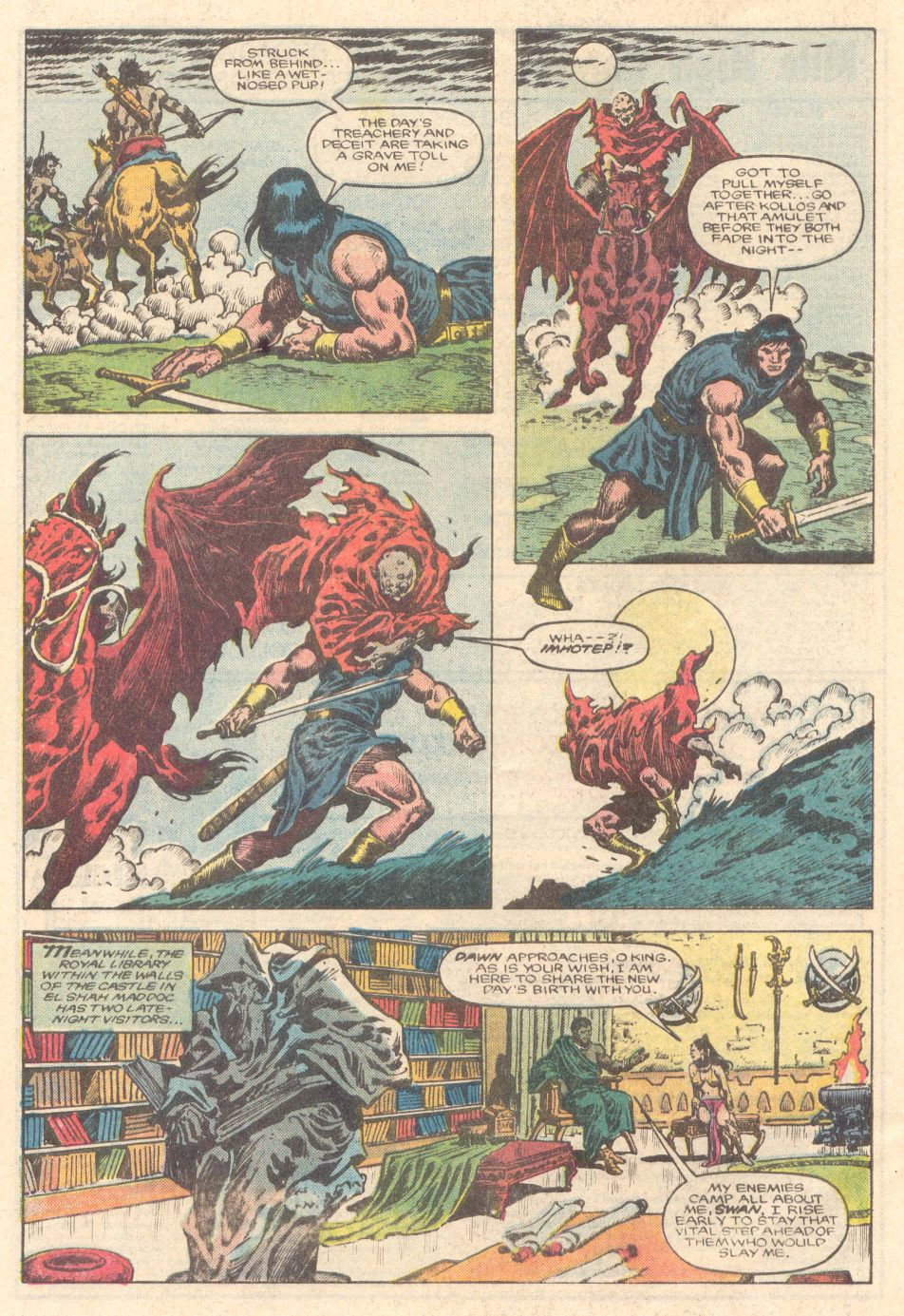 Conan the Barbarian (1970) Issue #183 #195 - English 6