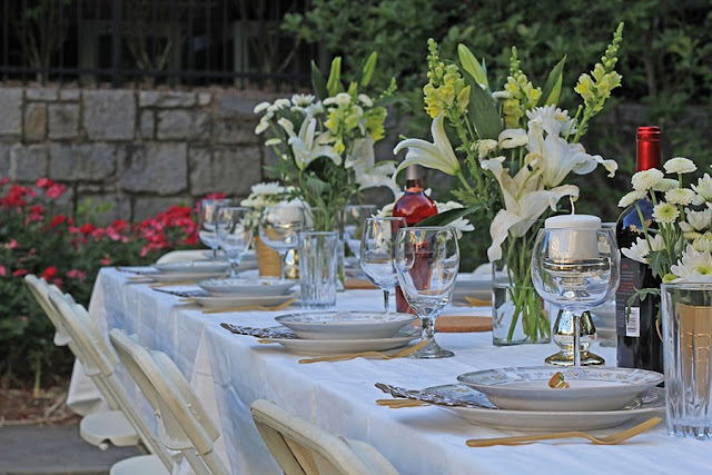 tablescape Louisiana Dinner Party | Cordier Events - Cordier Event Planning