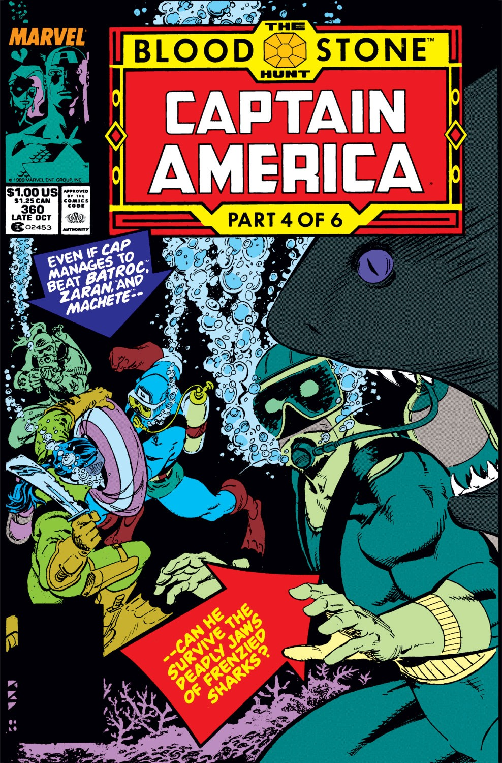 Captain America (1968) Issue #360 #293 - English 1