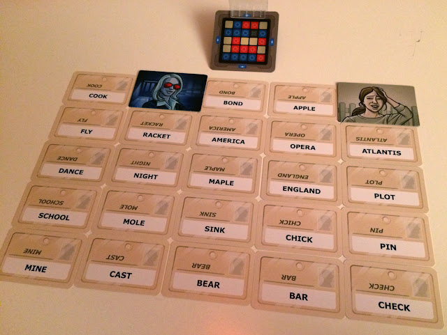 Codenames Board Game Review Example