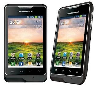 Motorola XT390 Android Dual SIM Mobile