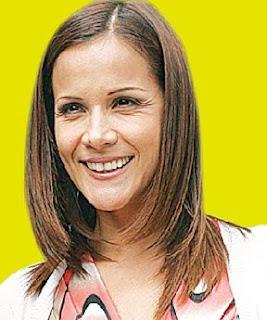 Mónica Sánchez sin maquillaje