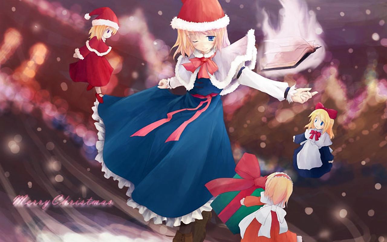 Animals Zoo Park: 5 Anime Christmas Wallpapers