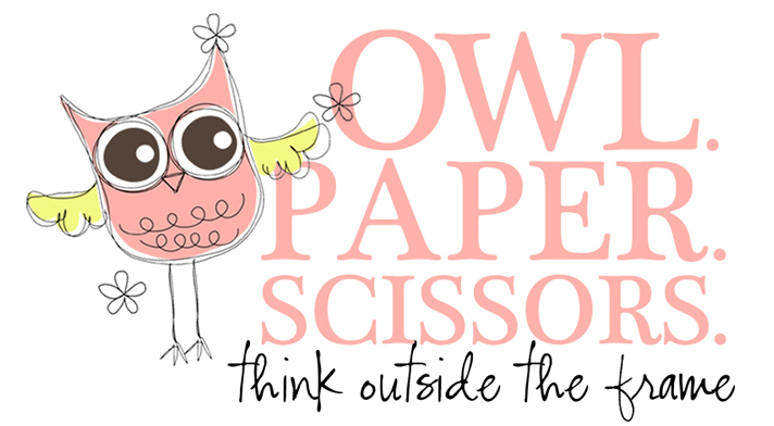 Owl Paper Scissors