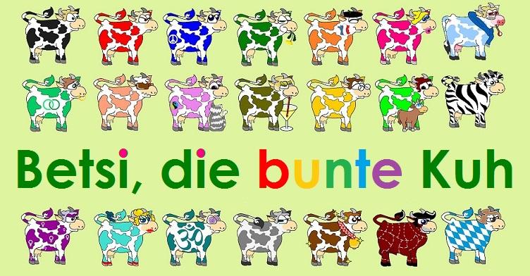 Betsi, die bunte Kuh