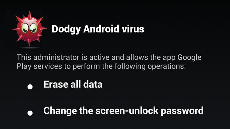 cara menghapus virus android