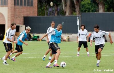Real Madrid entrenamientos