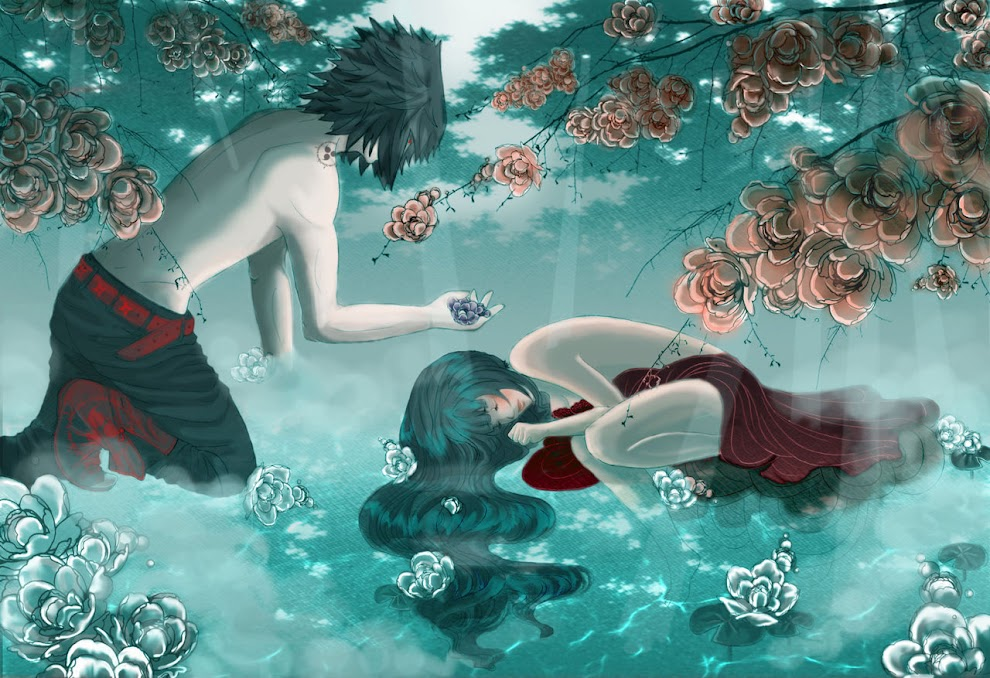 Przybywają do nas anioły, a my dowiadujemy się o nich, kiedy odeszły.'' -Sasuhina