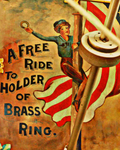 Image result for reaching for the brass ring
