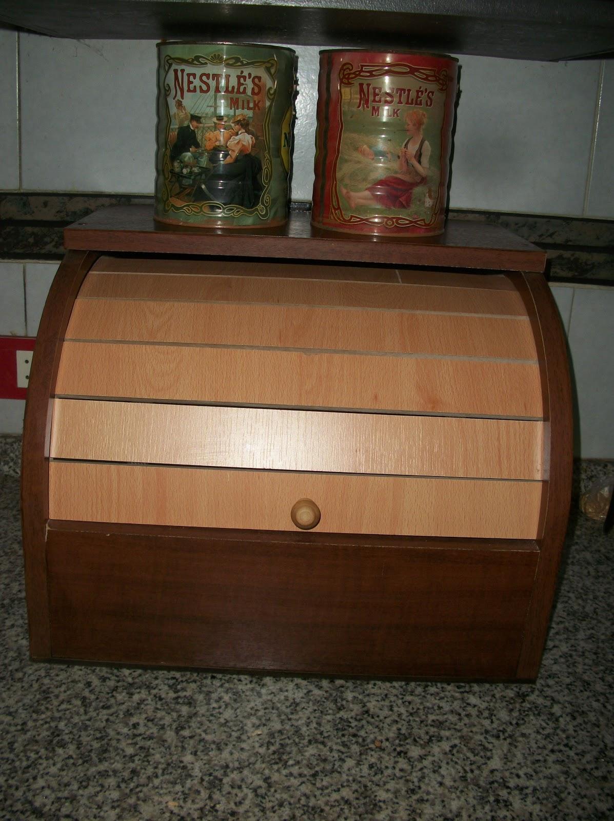 Estilocolor caja de pan para la cocina - Cajas para cocina ...