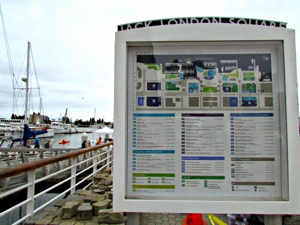 Jack London Square // Map