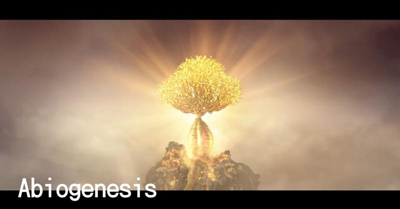 荒れた惑星に飛び込み、植物を増やして去っていくというショートフィルム: Abiogenesis