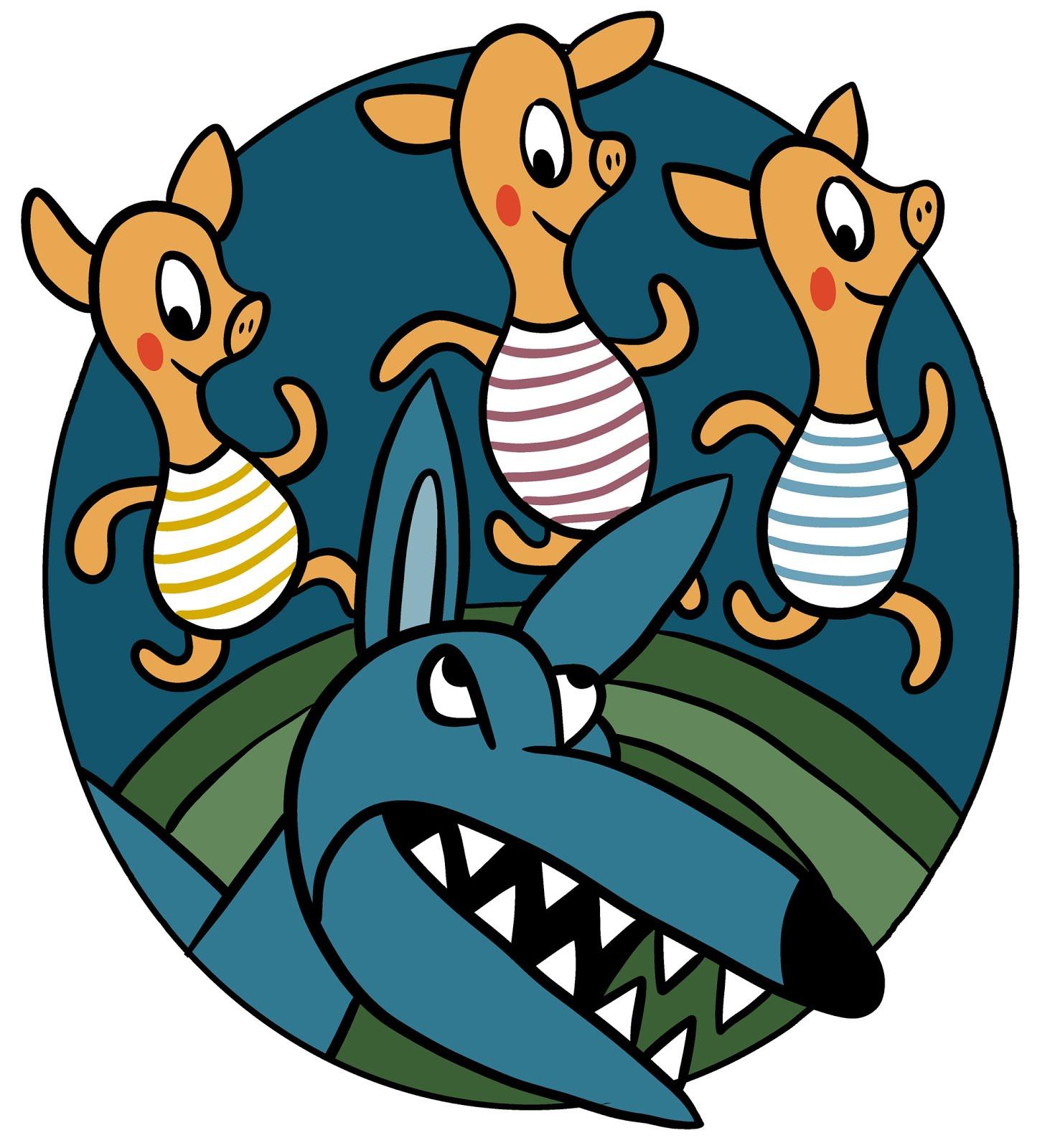 A három kismalac - az évad nyitó gyermekelőadása a Művész Stúdióban!
