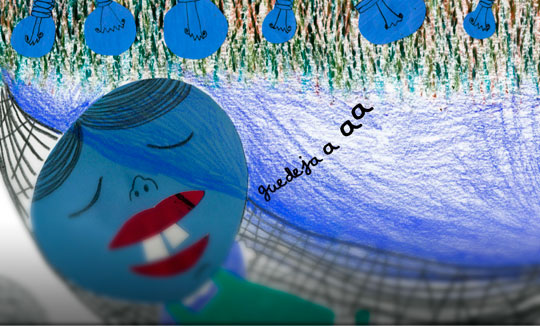 Ilustración, 29 fosfenos de Carmura Lenteja