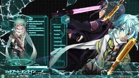 Download Sword Art Online II Theme Windows 7