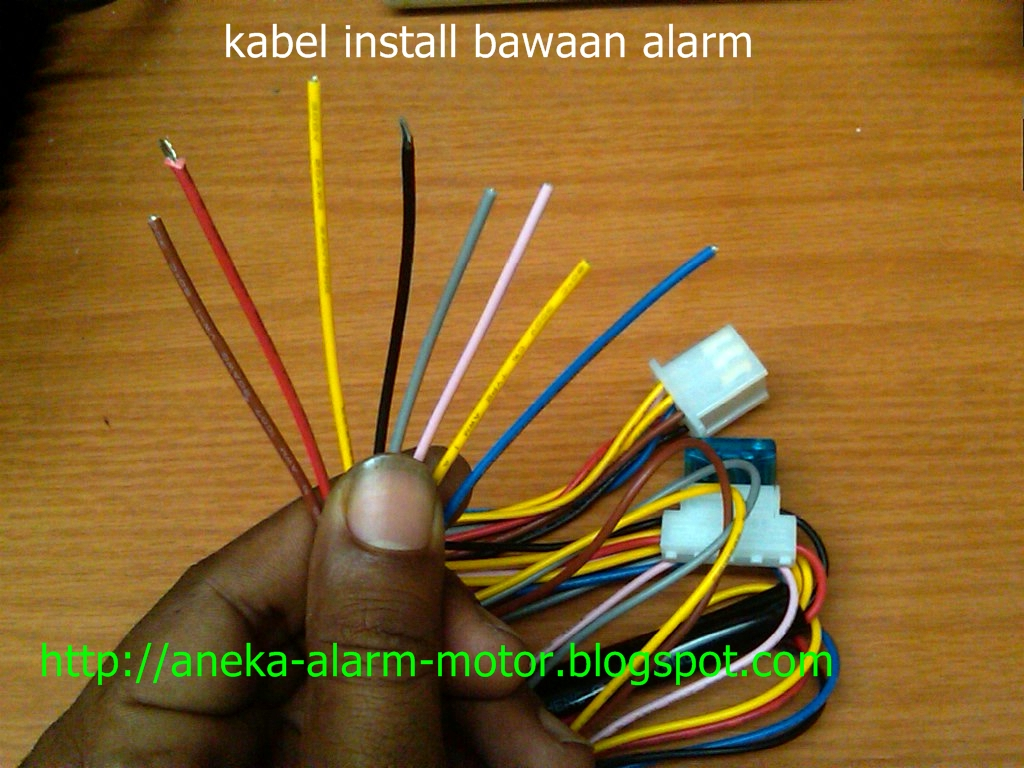 rumah accessories iii contoh cara memasang alarm motor rh rumahaccessories3 blogspot com Basic Car Alarm Diagram Home Alarm System Wiring Diagram