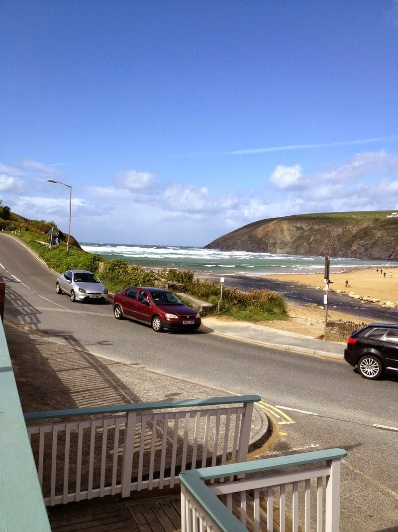 Mawgan Porth means cove of the Gluvian river,  a beach and small settlement in north Cornwall, England. Located in mid way between Padstow and Newquay on the rugged north Cornish coast, on the Atlantic Ocean coast. The picturesque village is positioned at the seawards end of the Vale of Lanherne.