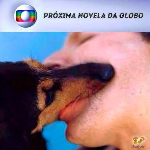 O beijo da próxima novela da Globo