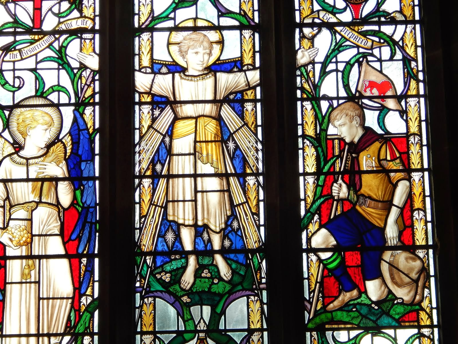 Dannan Window in the Church of the Resurrection