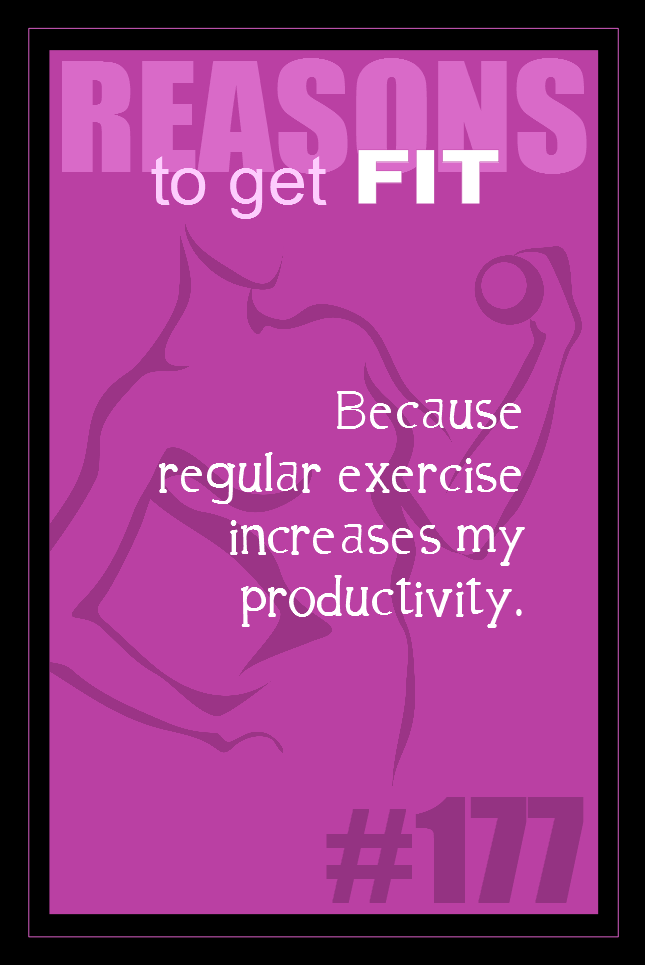 365 Reasons to Get Fit #177