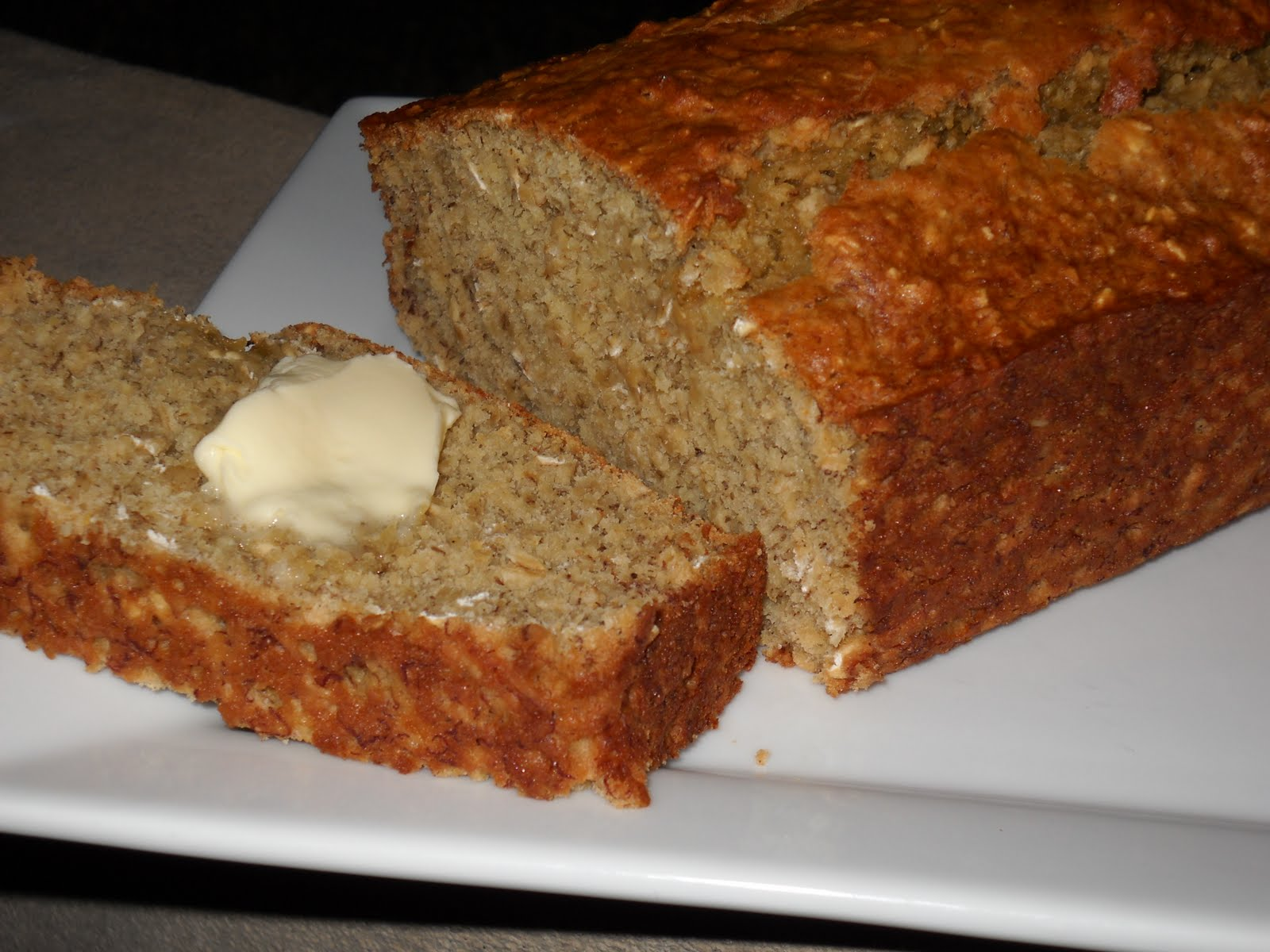 Better Than Burgers: Banana Oatmeal Bread