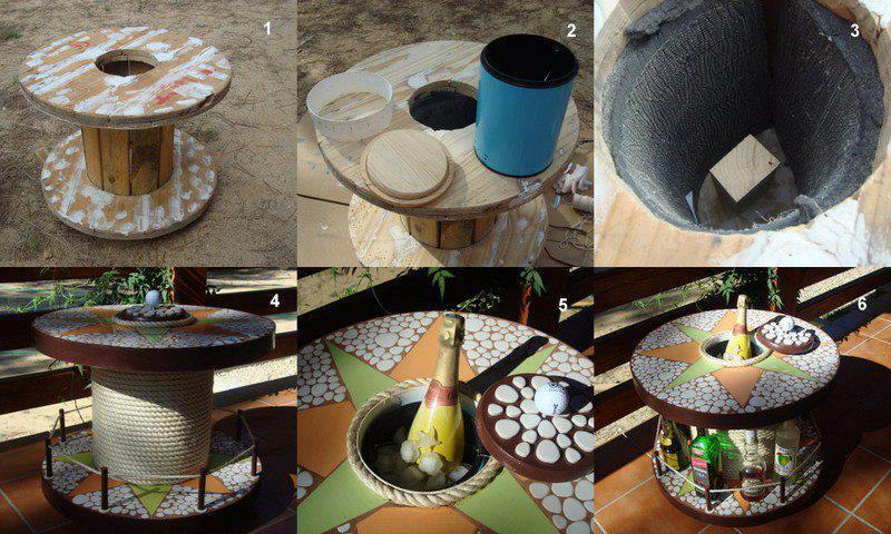 Ideas y cosas para tu hogar muebles y material reciclado for Muebles con material reciclado