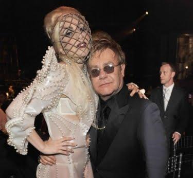 Lady Gaga Elton John. I blogged about the John baby