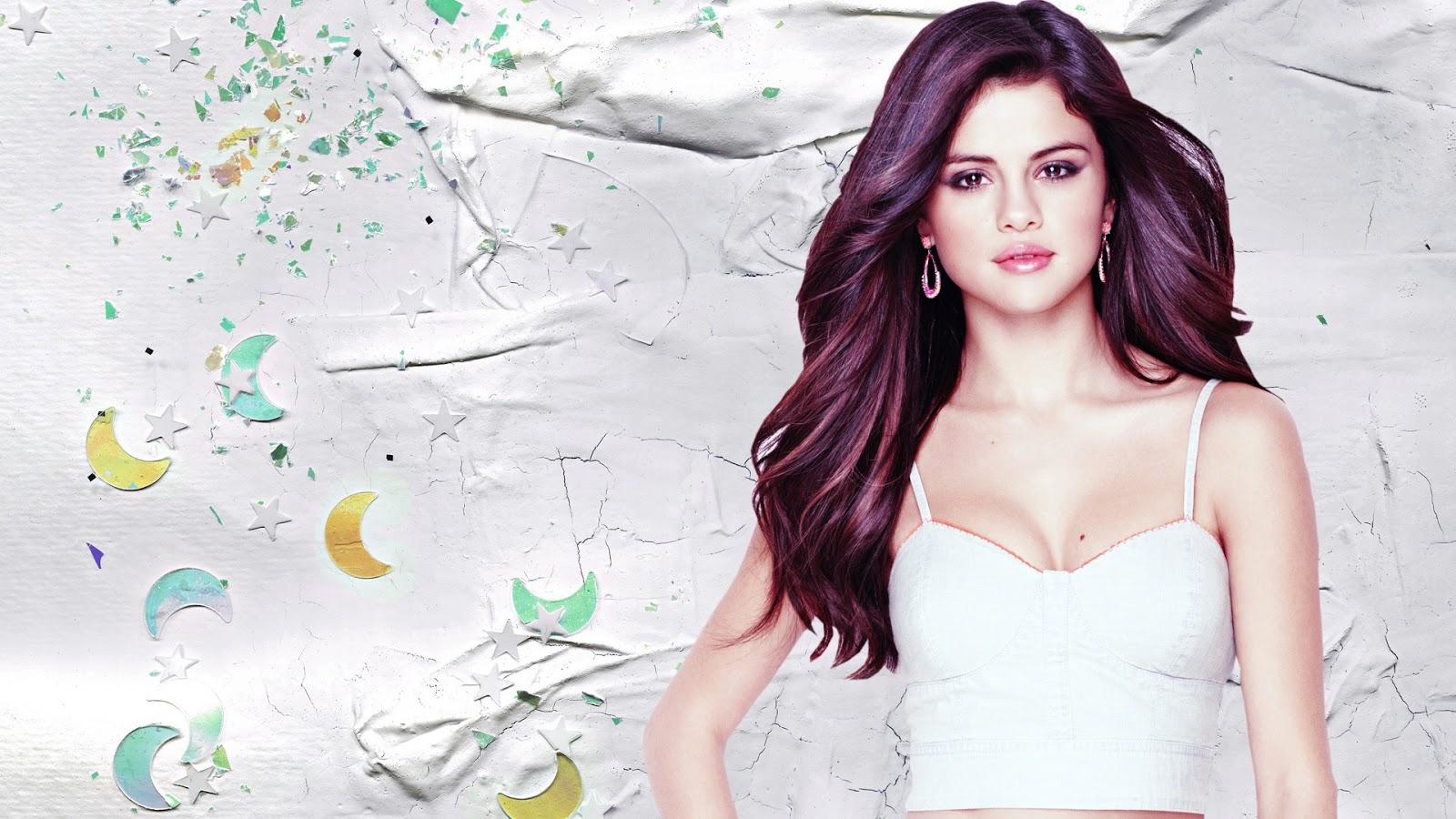 Selena Gomez Bikini Wallpaper 1080p