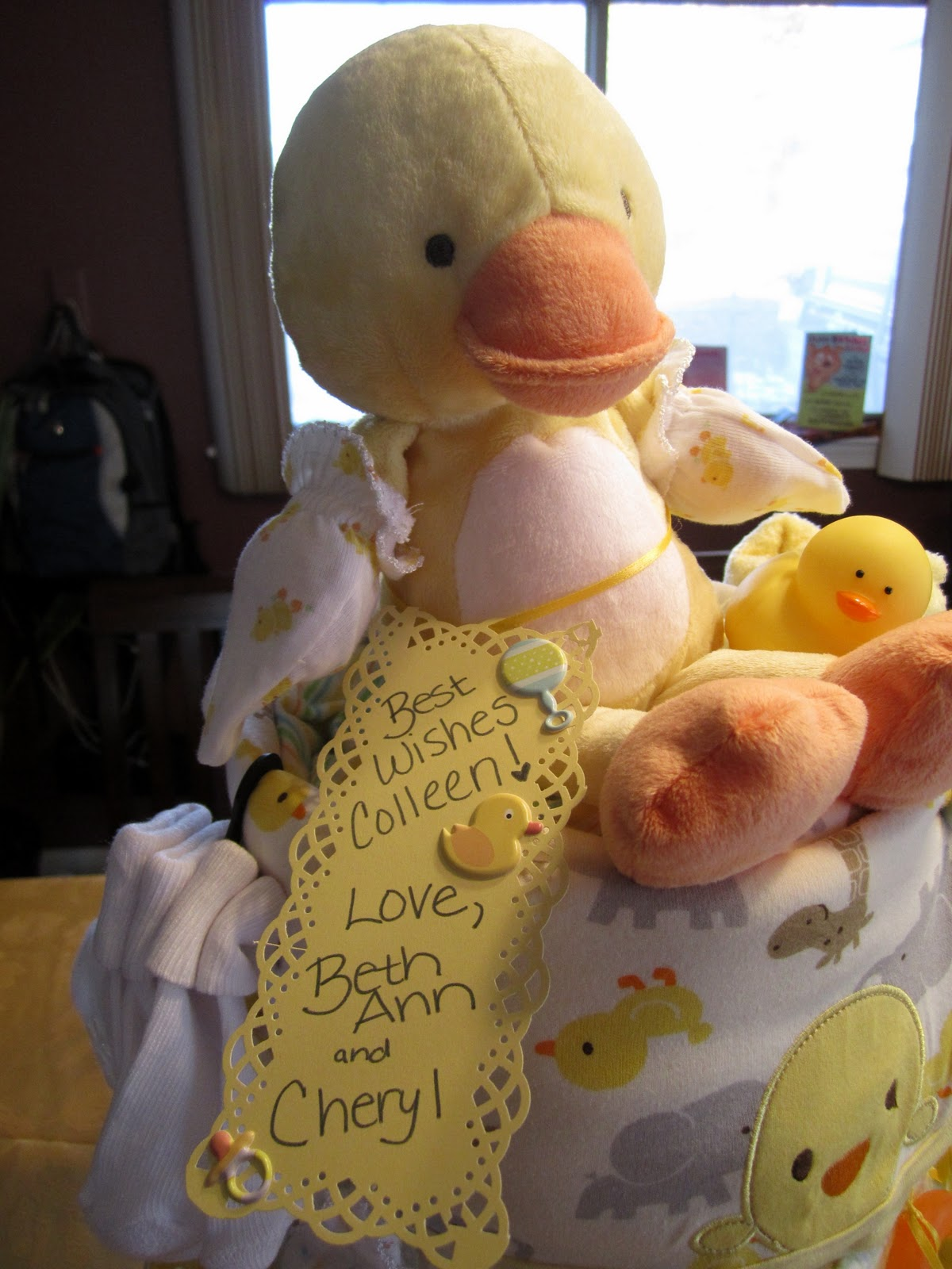 Diaper Cake: Adorable Baby Shower Gift!   Food Marriage
