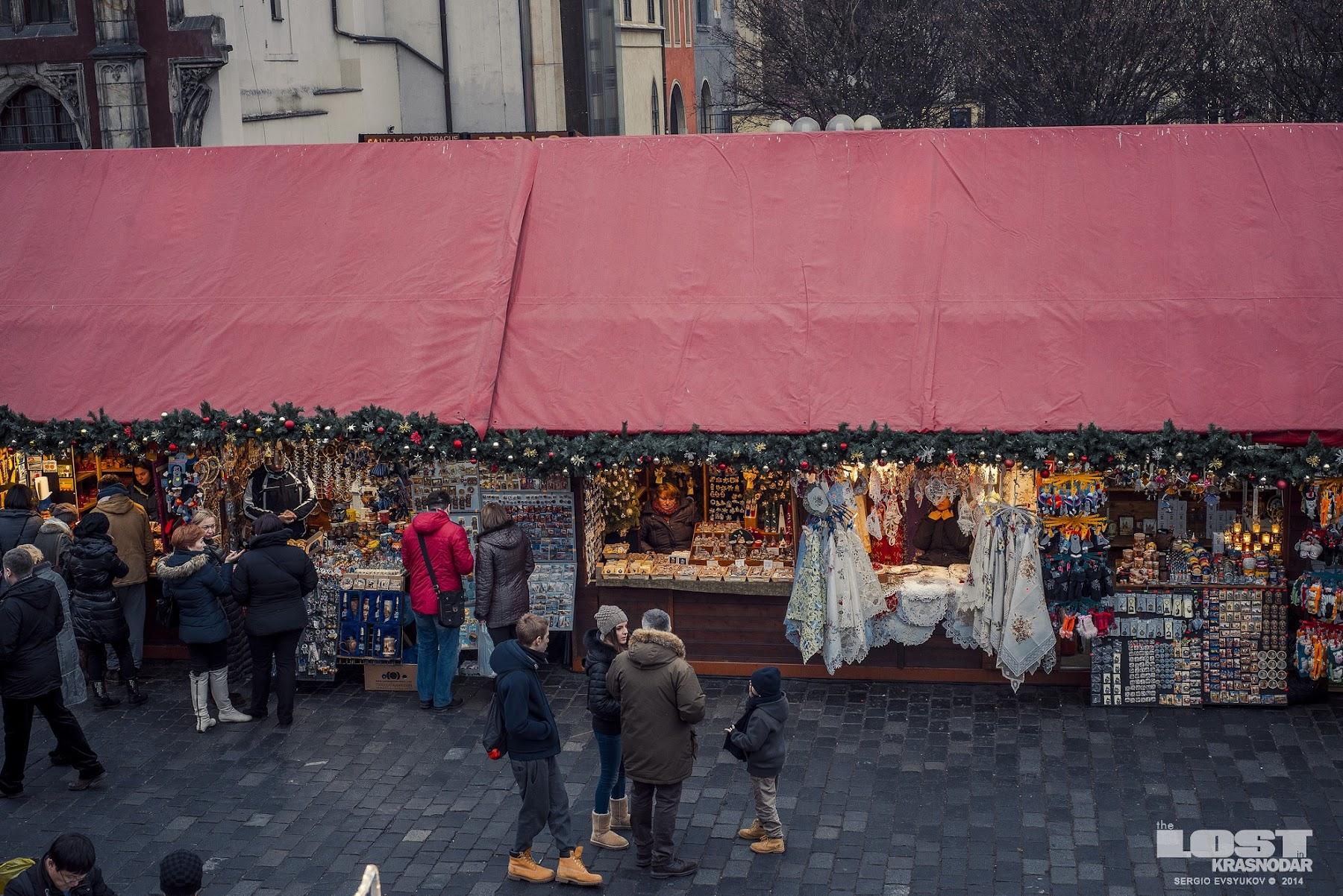 Winter Fair in Prague