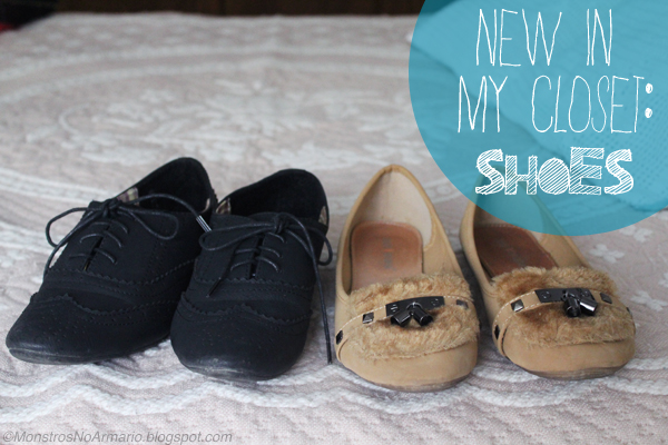 New in my closet: shoes