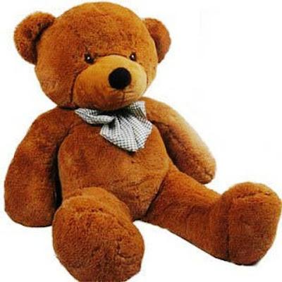 Gambar Boneka Teddy Bear Cokelat