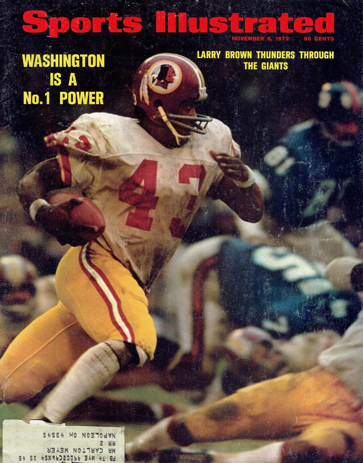 COVER 1972 SPORTS ILLUSTRATED