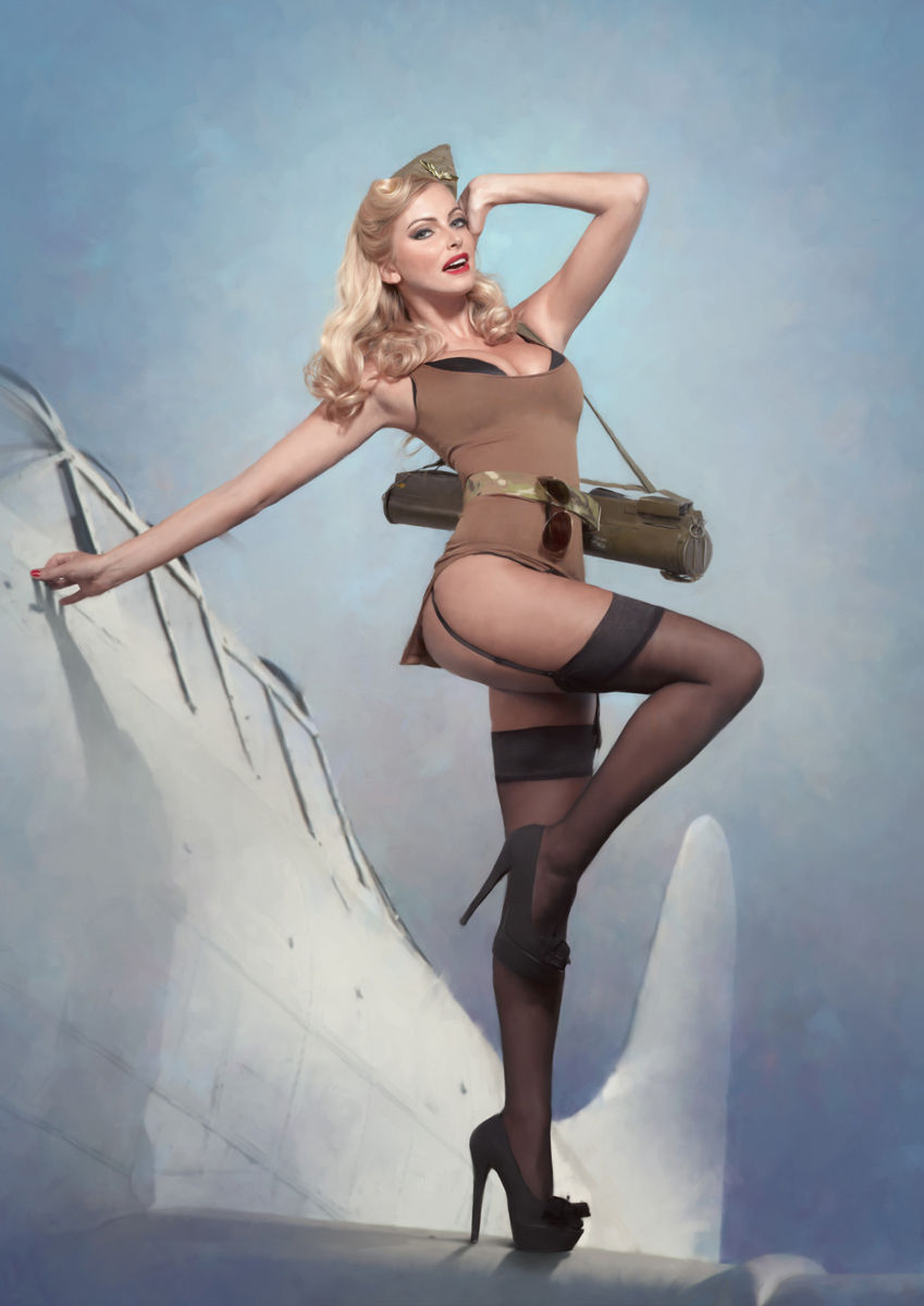 Opinion Sexy army pin up girls something