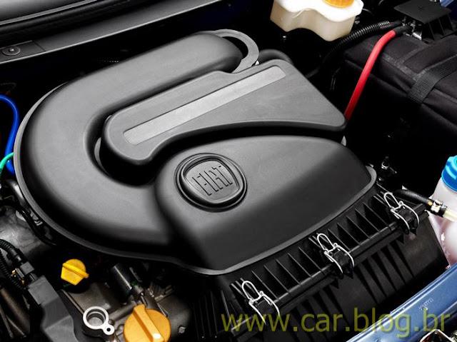 Novo Palio Attractive 1.4 2012 - motor 1.4 EVO
